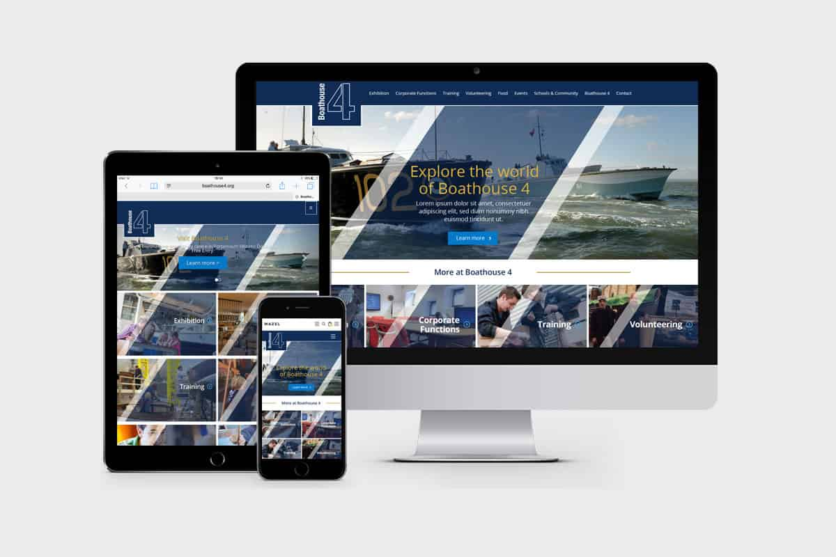 Boathouse 4 | Website Design & Development